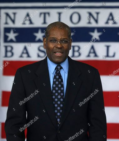 Bob Gibson Hall of Famer Bob Gibson is seen during the Baseball Hall of Fame induction ceremony, in Cooperstown, N.Y