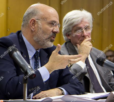 Joe DiPietro, Rich Rhoda University of Tennessee President Joe DiPietro speaks at budget hearings at the state Capitol in Nashville, Tenn., on Tuesday, Nov. 15. At right is Rich Rhoda, executive director of the Tennessee Higher Education Commission