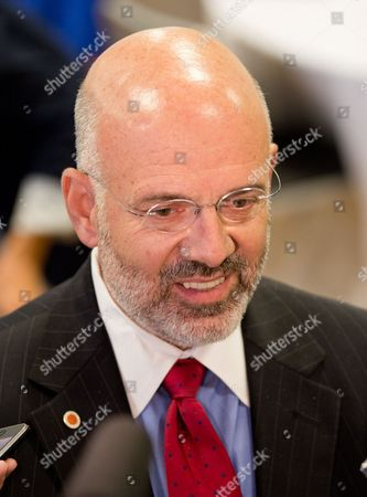 Joe DiPietro University of Tennessee President Joe DiPietro speaks to reporters during a break of a forum about higher education at the governor's mansion in Nashville, Tenn., on . Gov. Bill Haslam said he is making the improvement of the state's public colleges and universities a major priority for his administration