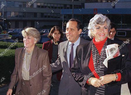 Editorial picture of John Zaccaro and Geraldine Ferraro, New York, USA