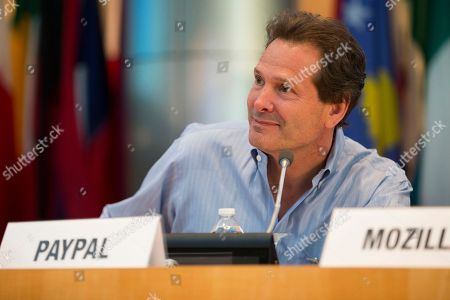 Dan Schulman Paypal President and CEO Dan Schulman listens during a Global Connect Initiative event, at the World Bank in Washington