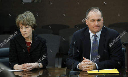 Mary Sue Coleman, Rich Rodriguez University of Michigan President Mary Sue Coleman, left, and head football coach Rich Rodriguez, during a news conference in Ann Arbor, Mich. Rodriguez concedes he is nervous about this weekend's hearing with the NCAA. On, Rodriguez will join Coleman and athletic director Dave Brandon in Seattle for the meeting with NCAA officials