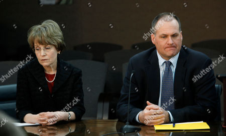 Stock Picture of Mary Sue Coleman, Rich Rodriguez University of Michigan President Mary Sue Coleman, left, and head football coach Rich Rodriguez, right, are shown at a news conference in Ann Arbor, Mich., . The NCAA has found that Michigan's storied football program was out of compliance with practice time rules under coach Rodriguez. Incoming athletic director David Brandon disclosed the finding Tuesday. He says there were no surprises in the NCAA findings. He also says Rodriguez remains the coach. Michigan has 90 days to respond and will appear at an NCAA hearing on infractions in August