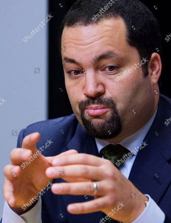 Benjamin Jealous NAACP President and Chief Executive Officer Benjamin Jealous gestures during an interview in Washington. Health, jobs, education, youth _ the issues driving the NAACP's 102nd annual convention look much like the agenda of many organizations working to improve the nation's contemporary social challenges. The convention, which kicks off this weekend in downtown Los Angeles, shows how the venerable civil rights organization has had to redefine its role to encompass wider issues and a broader audience in an era where the nation has elected a black president