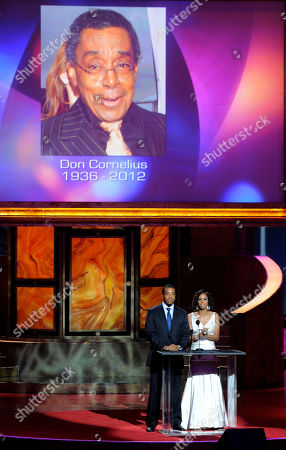 Russell Hornsby, Holly Robinson Peete Russell Hornsby, left, and Holly Robinson Peete pay tribute to Don Cornelius onstage at the 43rd NAACP Image Awards, in Los Angeles