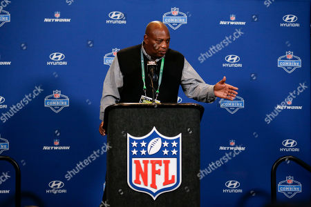 Ozzie Newsome Baltimore Ravens general manager Ozzie Newsome speaks during a press conference at the NFL football scouting combine in Indianapolis