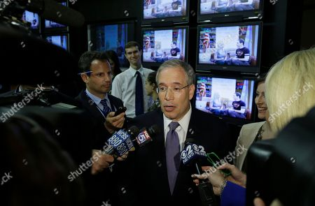 Scott Stringer Manhattan borough president Scott Stringer responds to questions after a primary debate for New York City comptroller with former New York Gov. Eliot Spitzer at the WCBS-TV studios, in New York. AP Photo/Frank Franklin II, Pool