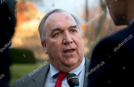 John Engler Business Roundtable President John Engler talks with media as he leaves the White House after a meeting with White House Chief of Staff Jacob Lew and Treasury Secretary Tim Geithner regarding the fiscal cliff, in Washington