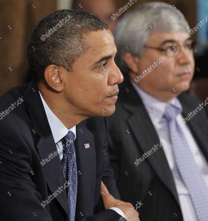 Editorial image of Pete Rouse Obama, Washington, USA