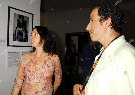 Mary McCartney and David Koppel