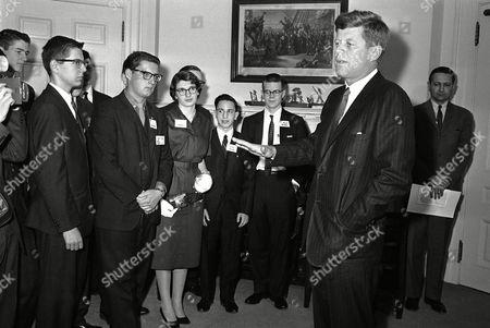 Editorial image of President John F. Kennedy, Washington, USA