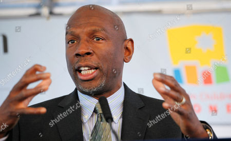 Geoffrey Canada Geoffrey Canada, President and CEO of Harlem Children's Academy Promise Zone, speaks at a ground breaking ceremony for the new site of the academy, in New York. The school will serve 1,300 students from kindergarten to 12th grade