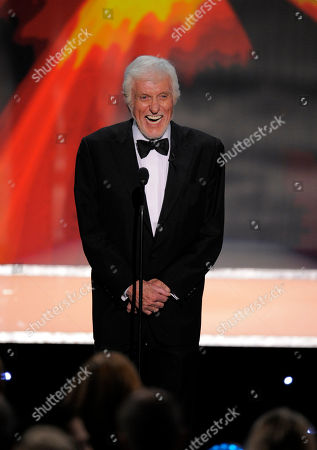 Dick Van Dyke Dick Van Dyke presents the Life Achievement award onstage to Mary Tyler Moore, not seen, at the 18th Annual Screen Actors Guild Awards on in Los Angeles