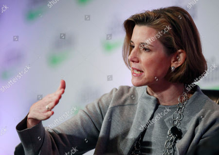 Stock Image of SIFMA, Sallie Krawcheck Sallie Krawcheck, former President of Global Wealth & Investment Management at the Bank of America, speaks at the Securities Industry and Financial Markets Association annual meeting, in New York