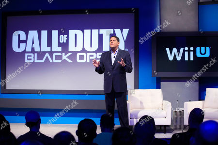 "Reggie Fils-Aime Reggie Fils-Aime, president and chief operating officer of Nintendo of America, announces that ""Call of Duty Black Ops II"" will be available for the upcoming Wii U gaming console, in New York. The gaming console will start at $300 and go on sale in the U.S. on Nov. 18, in time for the holidays, the company said Thursday"