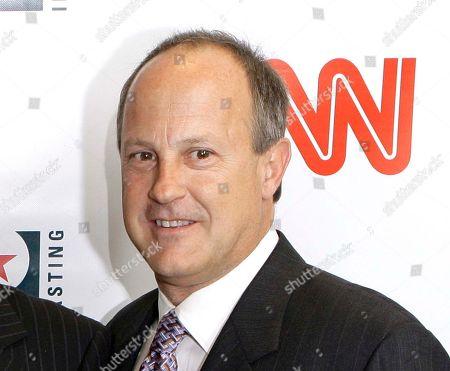 Editorial image of TV CNN Walton, New York, USA