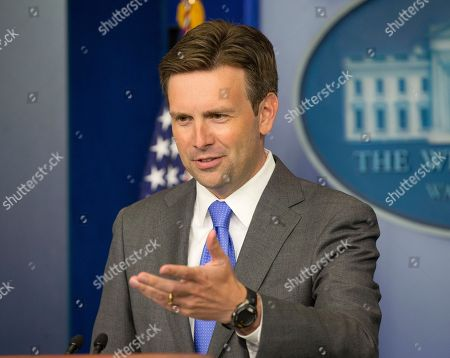 "Josh Earnest White House principal deputy press secretary Josh Earnest answers questions during his daily news briefing at the White House in Washington, Monday, Aug., 19, 2013. For the Obama administration, there's a new wrinkle that could further complicate ties with post-coup Egypt: the possible release of the country's jailed former leader, Hosni Mubarak. For nearly three decades, the U.S. propped up Mubarak and the Egyptian military with financial and military support. In exchange, Egypt helped protect U.S. interests in the region, including a peace treaty with Israel. ""President Mubarak is part of an ongoing Egyptian legal process right now,"" Earnest said. ""And because that is a process that is internal to Egypt, it's not something that I'm in a position to comment on from here"