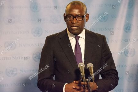 Mali's Minister for Foreign Affairs Abdoulaye Diop