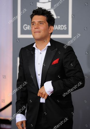Stock Picture of Gustavo Galindo Gustavo Galindo arrives at the 54th annual GRAMMY Awards on in Los Angeles