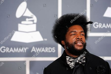 Quest Love Quest Love arrives at the 54th annual Grammy Awards on in Los Angeles