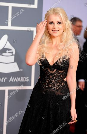 Mika Newton Mika Newton arrives at the 54th annual GRAMMY Awards on in Los Angeles