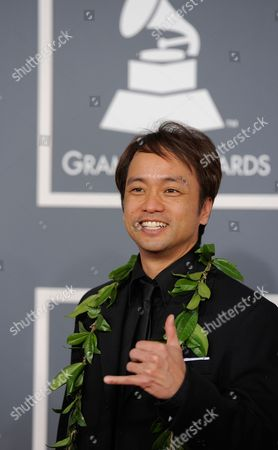 Stock Picture of Daniel Ho Daniel Ho arrives at the 54th annual GRAMMY Awards on in Los Angeles
