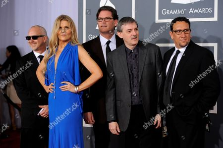 The Tierney Sutton Band arrives at the 54th annual GRAMMY Awards on in Los Angeles