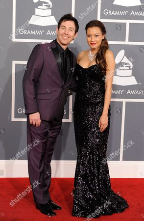 Stock Image of Photek, Stephanie Chao Photek and Stephanie Chao arrives at the 54th annual GRAMMY Awards on in Los Angeles