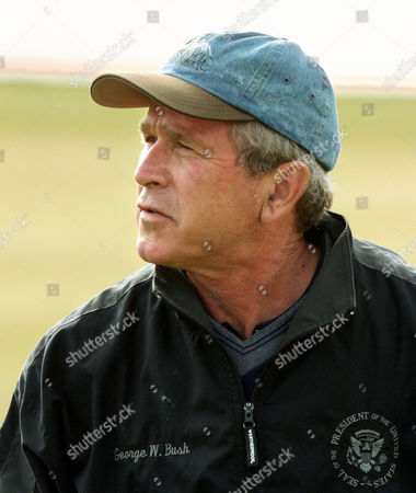 BUSH President Bush informs reporters he will visit tornado-damaged areas next Tuesday, as he finishes playing golf at the Las Campanas golf course in Santa Fe, N.M., where he is spending a private weekend with friend Roland Betts