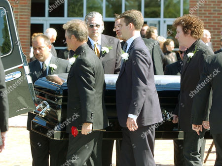 Editorial photo of CASH FUNERAL, HENDERSONVILLE, USA