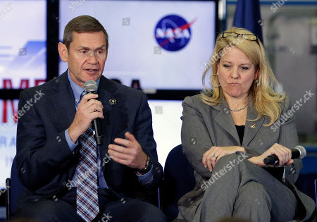 Editorial image of Commercial Space Crew, Houston, USA