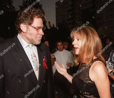 "RICHARDSON MASUR Patricia Richardson, an Emmy nominee for best actress in a comedy series for her role in ""Home Improvement"" talks with Screen Actors Guild President Richard Masur at an Emmy Performer Nominee Reception in the Westwood section of Los Angeles. The Emmy Awards show with Paul Reiser hosting will air Sunday, Sept. 8, 1996"