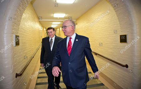 Howard McKeon, John Mica Rep. Howard McKeon, R-Calif., chairman House Armed Services Committee, right, and House Transportation Committee Chairman Rep. John Mica, R-Fla., walk through an underground tunnel to a Republican strategy session with Speaker of the House John Boehner, R-Ohio, at the Capitol in Washington