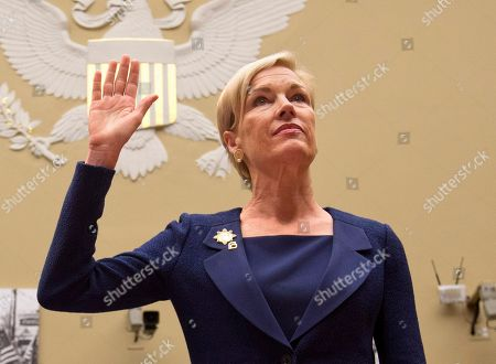"""Cecile Richards Planned Parenthood Federation of America President Cecile Richards is sworn in on Capitol Hill prior to testifying before the House Oversight and Government Reform Committee hearing on """"Planned Parenthood's Taxpayer Funding,"""" in Washington. Richards, Reese Witherspoon, Misty Copeland, Caitlyn Jenner and five women touched by the South Carolina church massacre and lauded in the aftermath as The Peacemakers of Charleston are among this year's honorees as Glamour magazine's Women of the Year. Victoria Beckham, billionaire entrepreneur Elizabeth Holmes, and the women's FIFA soccer Team USA round out the Class of 2015, announced . They will be honored at a gala Nov. 9 at Carnegie Hall"""