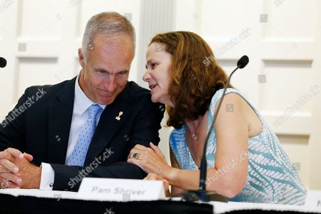 Todd Martin, Pam Shriver Pam Shriver, right, talks with International Tennis Hall of Fame CEO Todd Martin before a news conference introducing the 2015 inductees to the International Tennis Hall of Fame in Newport, R.I