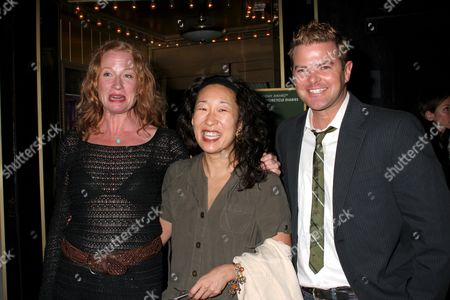 Johanna Day, Sandra Oh and Clarke Thorell