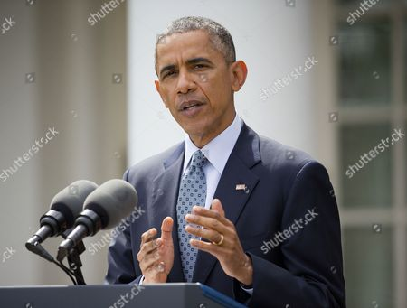 Editorial picture of Iran Nuclear Obama, Washington, USA