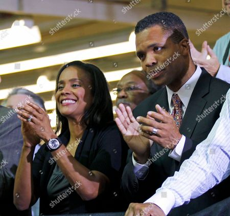 Jesse Jackson Jr., Sandi Jackson Rep. Jesse Jackson Jr., D-Ill., right, and his wife Chicago Alderman Sandi Jackson, left, applaud as President Barack Obama is introduced at the Ford Motor Company Chicago Assembly Plant. On, Sandi Jackson she is not interested in running for the U.S. House seat her husband held for nearly 17 years, ending talk that she was eying the Chicago-area district. Jesse Jackson Jr. resigned in Novemver 2012 citing his health and acknowledging that he's under federal investigation, reportedly for misusing campaign funds. His decision followed a hushed medical leave for treatment of bipolar disorder