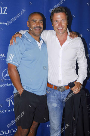 Daley Thompson and Norbert Dobeleit