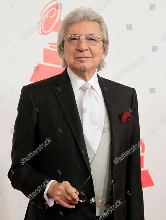 Manuel Alejandro Manuel Alejandro arrives at the Latin Recording Academy Person of the Year tribute to Shakira on in Las Vegas