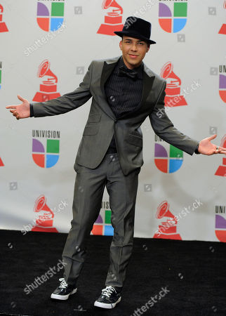 Ben E. King Prince Royce poses backstage at the 11th Annual Latin Grammy Awards, in Las Vegas