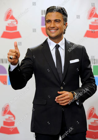 Jamie Camil Jamie Camil poses backstage at the 11th Annual Latin Grammy Awards, in Las Vegas