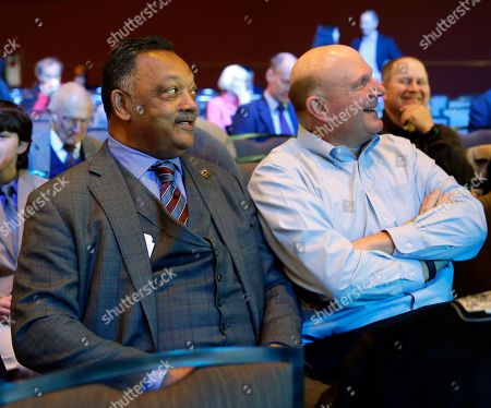 Jesse Jackson, Steve Ballmer Rev. Jesse Jackson, left, sits with former Microsoft CEO Steve Ballmer at Microsoft Corp.'s annual shareholders meeting, in Bellevue, Wash. on . Jackson later spoke at the meeting to urge Microsoft and other high tech companies to increase the hiring and training of minority tech workers and to improve the diversity of their boards of directors