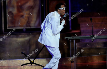 Deitrick Haddon Deitrick Haddon performs at the 42nd NAACP Image Awards, in Los Angeles