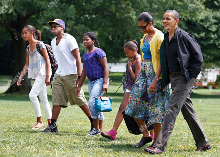 Editorial photo of Obamas Buddies, Washington, USA