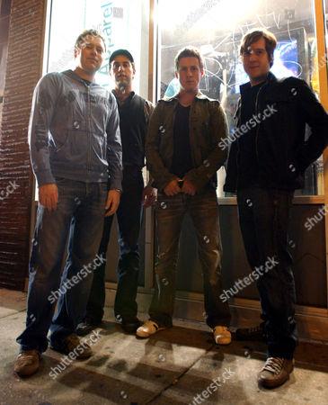 Blackpool Lights - Jim Suptic, Thom Hoskins, Billy Brimblecorn and Brian Everard