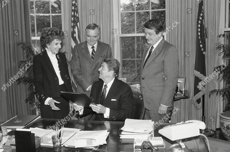 Ronald Reagan U.S. President Ronald Reagan is surrounded by Florida Congressmen after signing the Florida Wilderness Act of 1984, in Washington. Behind the President, from left are, Sen. Paula Hawkins, Sen. Lawton Chiles and Rep. Don Fuqua. The bill designates 49,150 acres of National Forest Systems lands in Florida as wilderness