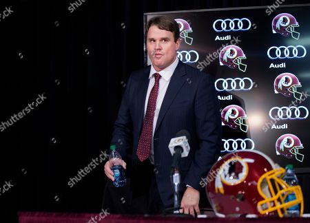 Jay Gruden New Washington Redskins head coach Jay Gruden, arrives for news conference at the Redskins Park in Ashburn, Va., . Jay Gruden was introduced Thursday as the new Washington Redskins head coach, replacing Mike Shanahan and becoming the team's eighth head coach since Daniel Snyder purchased the franchise in 1999
