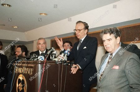 Rupert Murdoch Publisher Rupert Murdoch talks to reporters at a news conference in New York on about the agreement reached with union leaders to clear the way for the sale of the New York Post. Murdoch intends to sell the paper to real estate developer Peter Kalikow. At left is Allied Printing Trades Council President George McDonald
