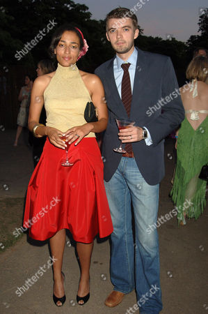 Zadie Smith and husband Nick Laird